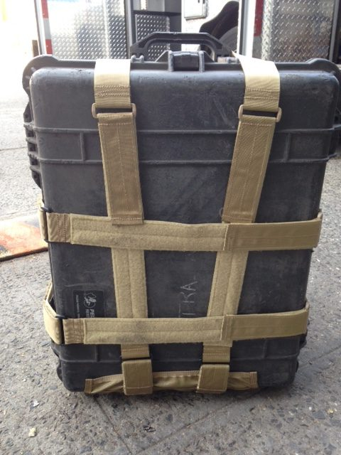 Large Pelican Cases with Extender Straps
